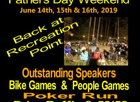 June 14th-16th, 2019 - 39th Annual Survivors MC Bass Lake Campout