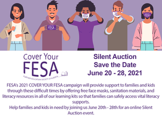 Announcing our Silent Auction Fundraiser