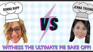 FESA's President and Vice-President face-off in the ultimate pie bake off