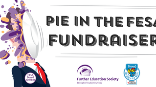 "Announcing our ""Pie in the FESA"" Fundraiser"