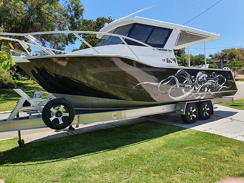 Boat Graphics and Wraps