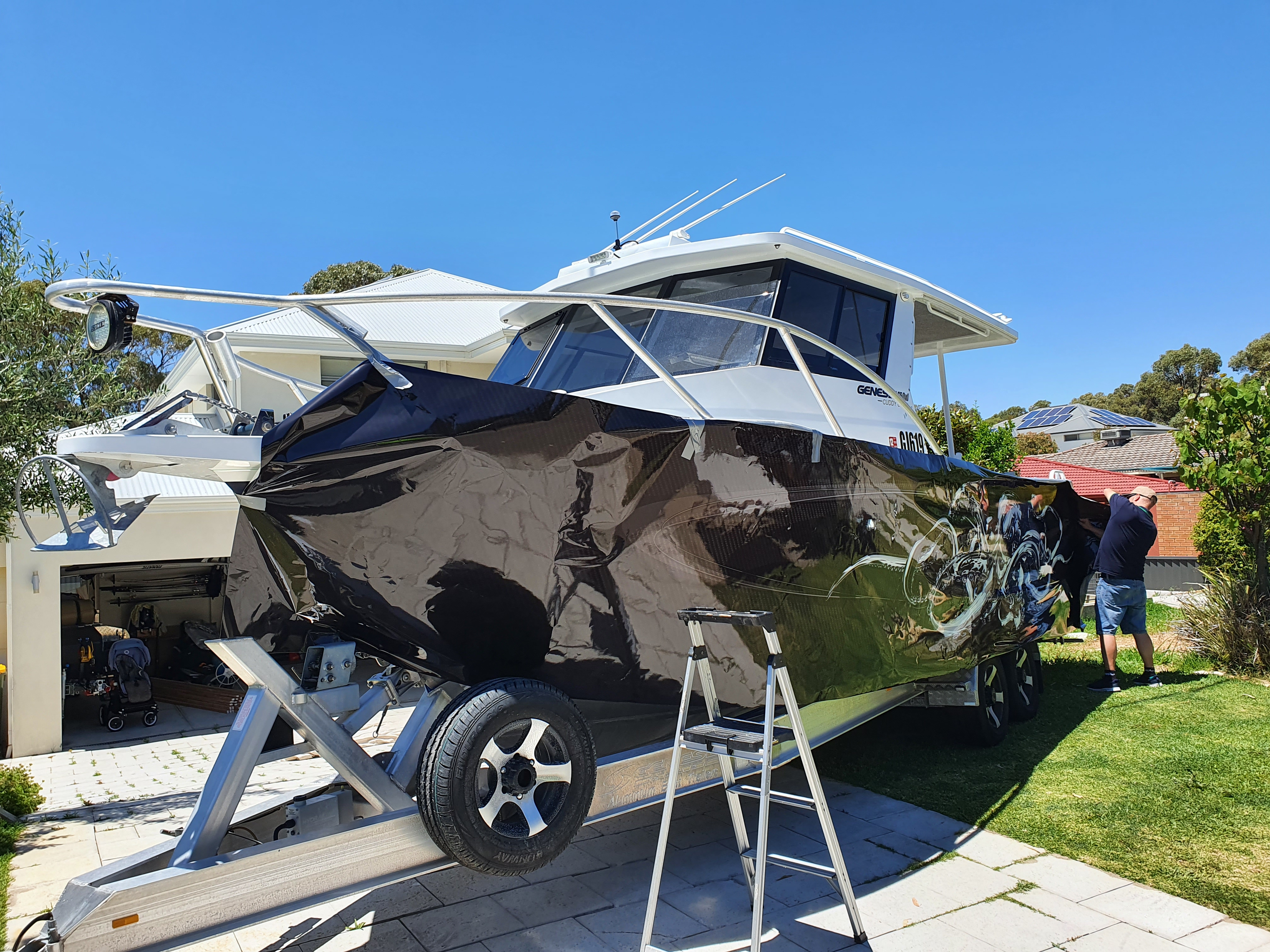 Boat Wraps Perth | Vibe Signs