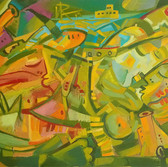 Resistance Oil on canvas, 60/91 cm., 24/36 in.