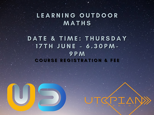Learning Outdoor Maths Registration & Fee