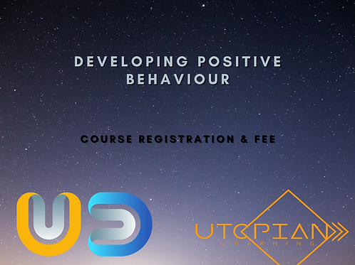 Developing Positive Behaviour Registration & Fee