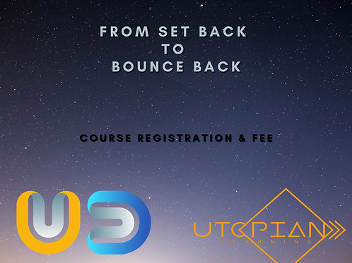 From Set Back to Bounce Back Registration & Fee