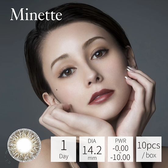Minette 1 Day Virgin Cocoa 10片裝