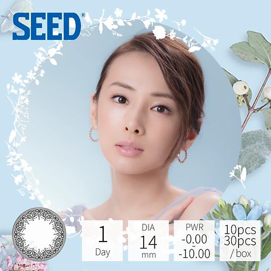 Seed Eye coffret 1 day UV Grace Make 蕾絲灰 30片裝