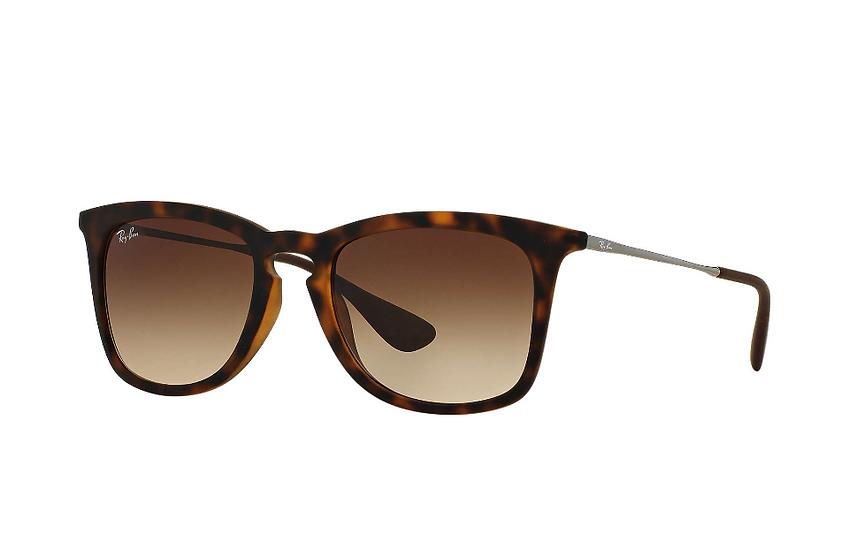 Ray-Ban RB4221F 玳瑁啡色框啡色漸變鏡片 太陽眼鏡