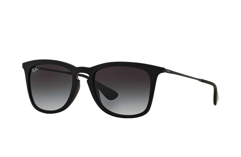 Ray-Ban RB4221F 黑色框灰色漸變鏡片 太陽眼鏡