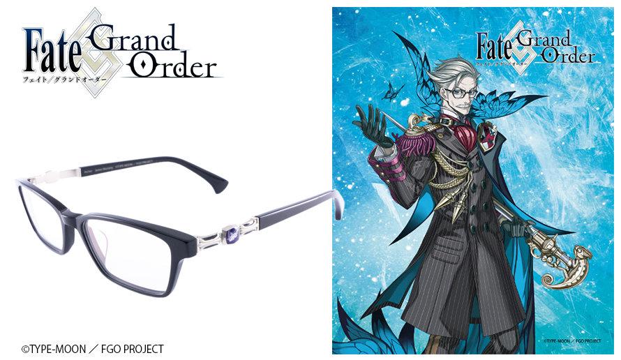 Fate Grand/Order 眼鏡系列 ジェームズ・モリアーティ造型光學眼鏡 送1.56不反光度數鏡片