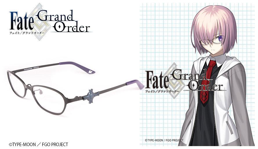 Fate Grand/Order 眼鏡系列 マシュ・キリエライト造型光學眼鏡 送1.56不反光度數鏡片