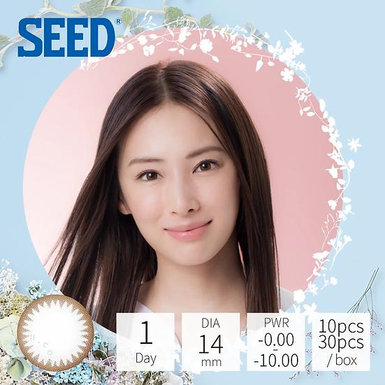 Seed Eye coffret 1 day UV Base Make 淺棕 30片裝
