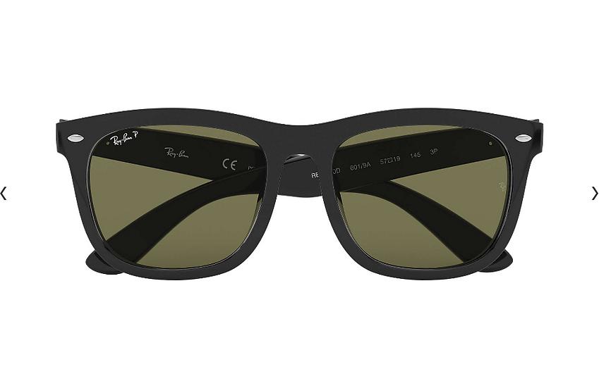 Ray-Ban RB4260D 黑框綠色鏡片 太陽眼鏡