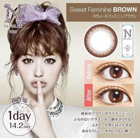 Naturali 1-Day 甜美啡 Sweet Feminine Brown
