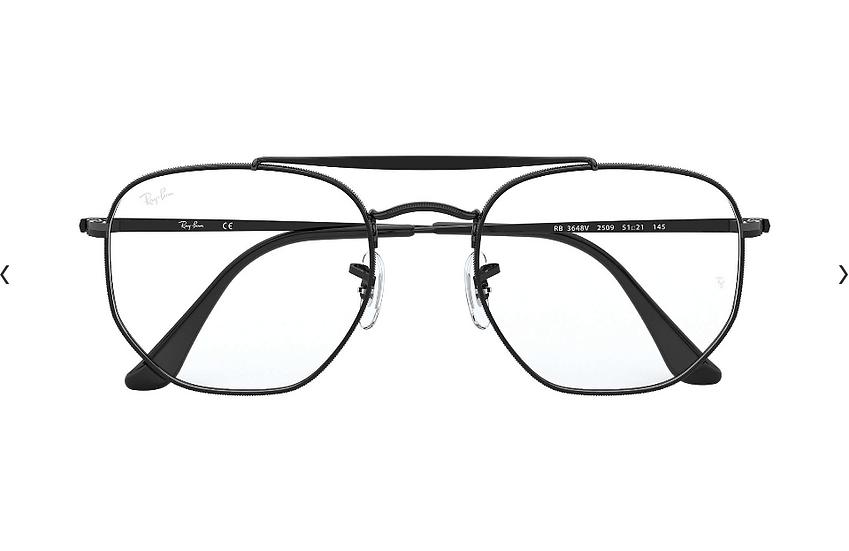 Ray-Ban RB3648V Marshal Optics 光學眼鏡 (2色可選)