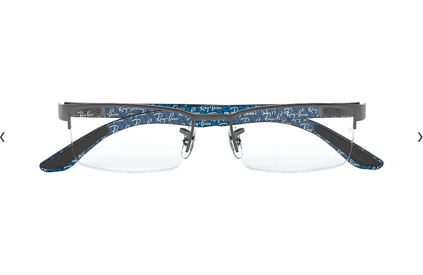 Ray-Ban RB8412 碳纖維光學眼鏡 (2色可選)