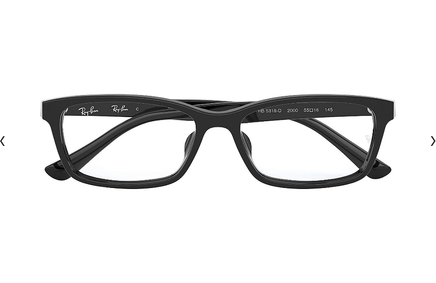 Ray-Ban RB5318D 2000 光學眼鏡