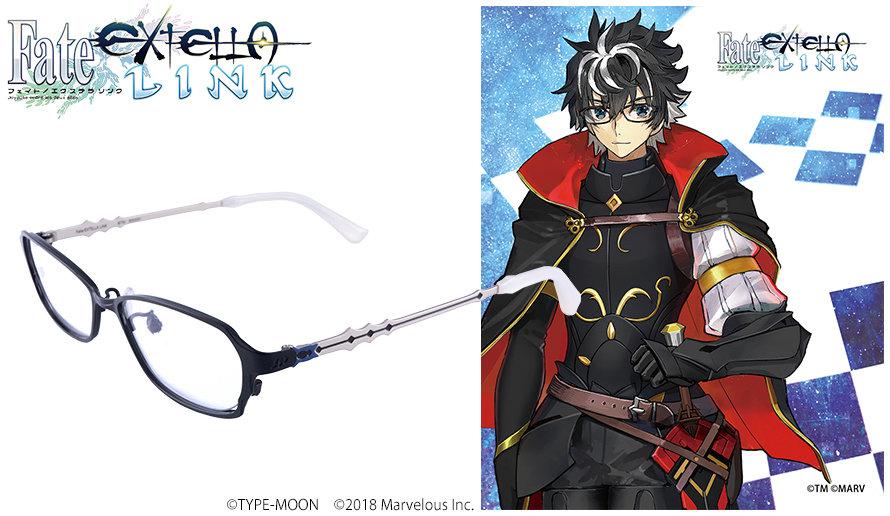 Fate/Extella Link 眼鏡系列 シャルルマーニュ 款 送1.56防反光鏡片