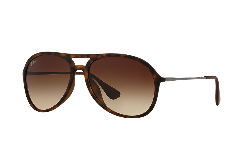 Ray-Ban RB4201F ALEX 玳瑁色框茶色鏡片 太陽眼鏡