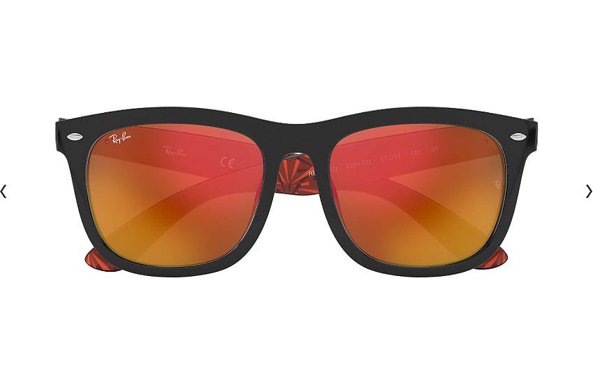 Ray-Ban RB4260D 橙黑色框橙色水銀鏡片 太陽眼鏡