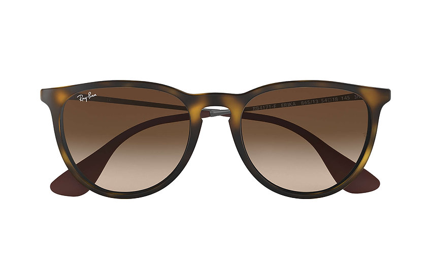 Ray-Ban RB4171F 玳瑁啡色框茶色鏡片 Erika Color Mix Low Bridge Fit 太陽眼鏡