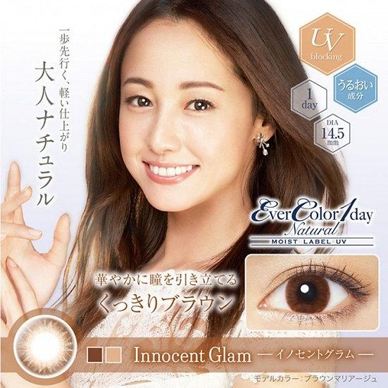 EverColor 1 Day Natural Moist Label UV Innocent Glam 20片裝