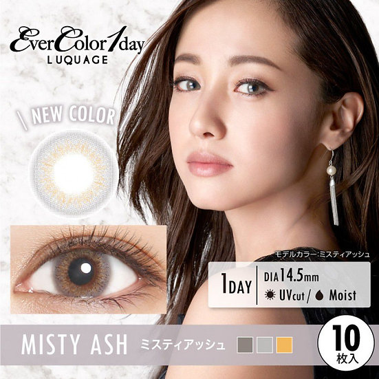 EverColor 1 Day Luquage Misty Ash 10片裝/30片裝