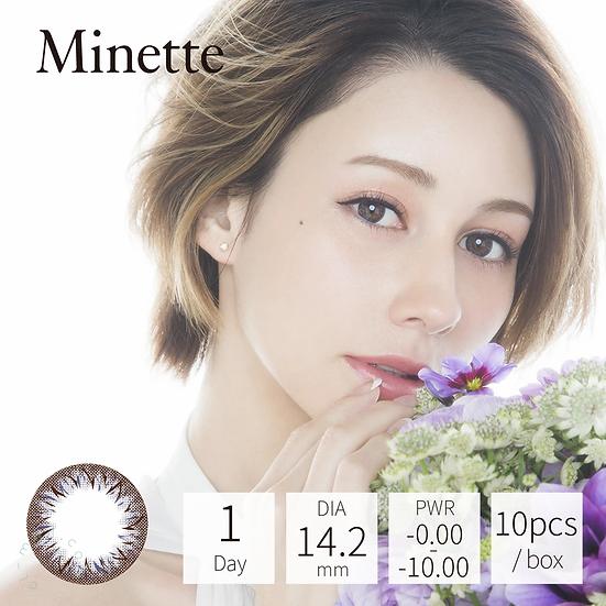 Minette 1 Day Layer Mist 10片裝