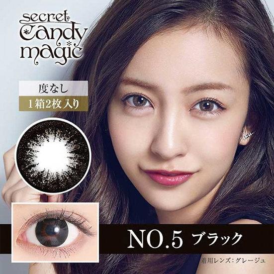 Secret Candy Magic 1-Day No.05 Black 20片裝