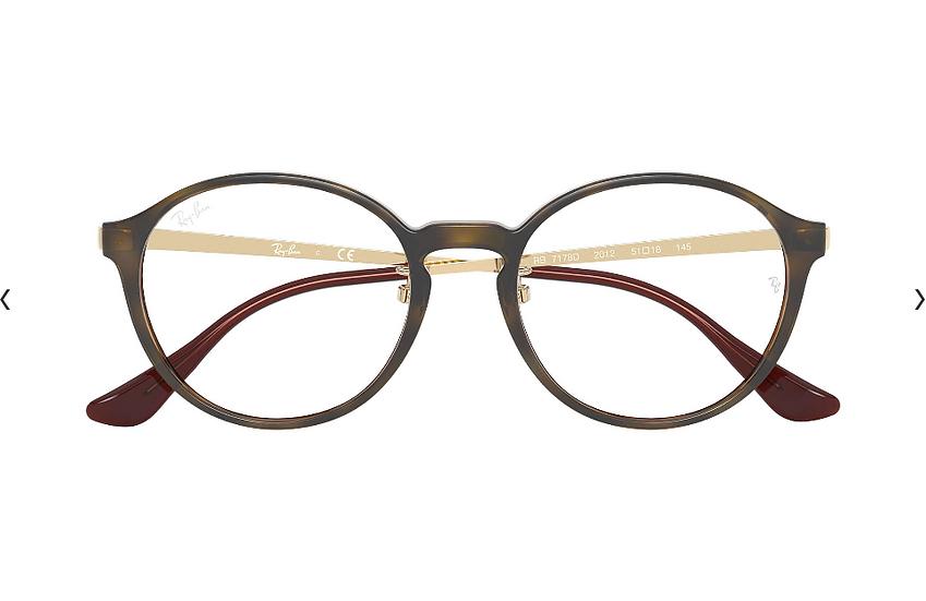 Ray-Ban RB7178D 金屬光學眼鏡 (4色可選)