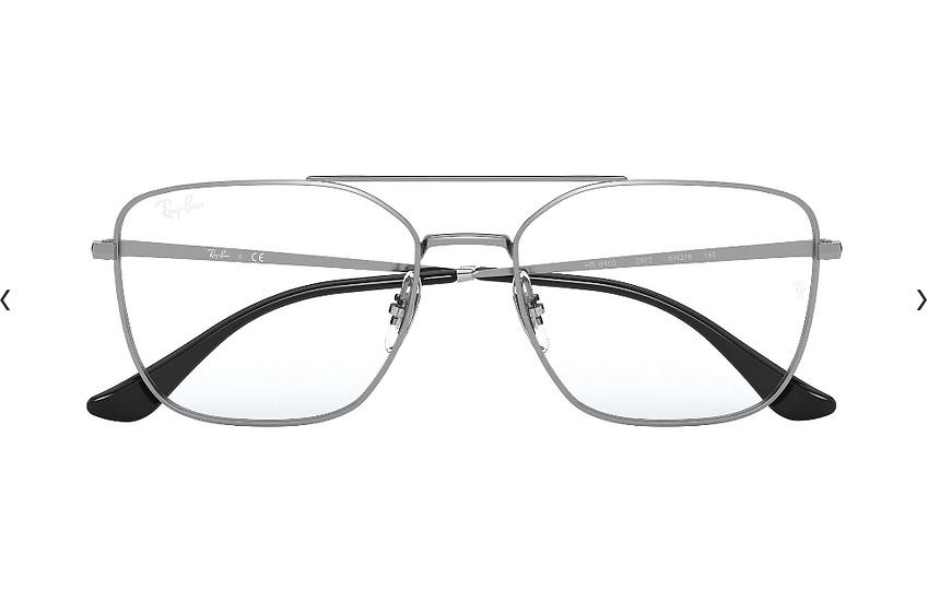 Ray-Ban RB6450 金屬光學眼鏡 (5色可選)
