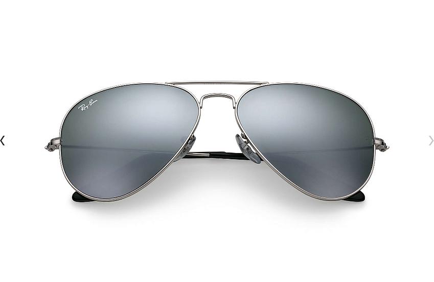 Ray-Ban RB3025 銀框銀色水銀鏡片 Aviator Mirror 太陽眼鏡