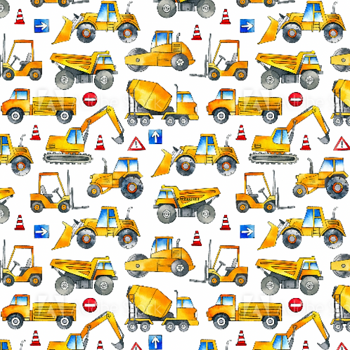 Diggers and trucks - Jersey