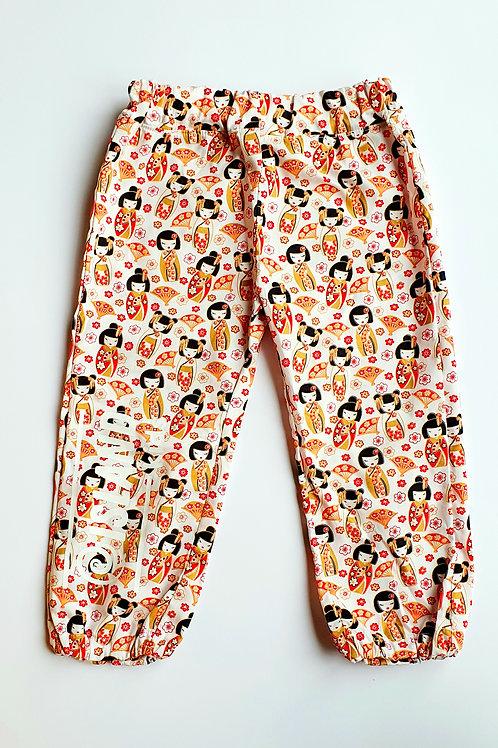 Oriental Cotton Summer Trouser