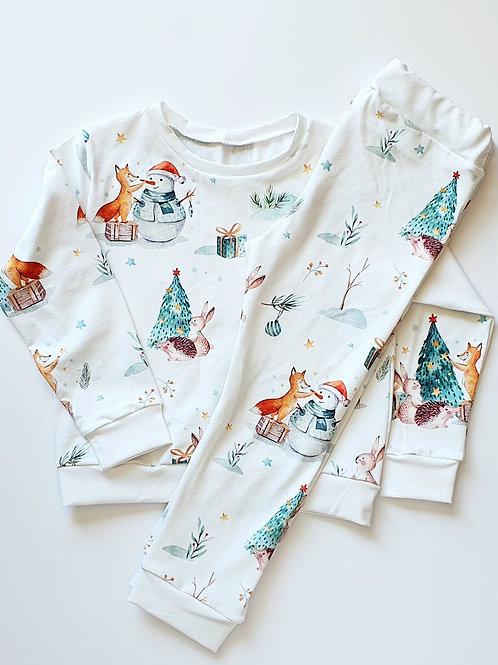 Christmas Woodland Animal Pyjamas