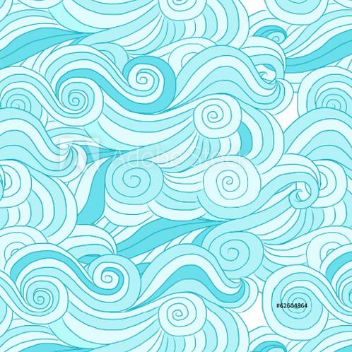 Waves - Loopback Jersey