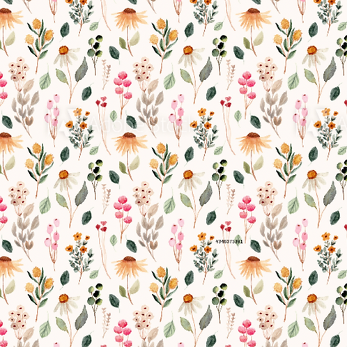 Wildflowers - Loopback Jersey
