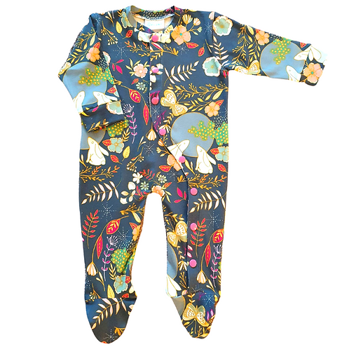 Enchanted forest baby grow