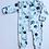 Thumbnail: Eucalyptus Baby Sleepsuit, Baby Grow