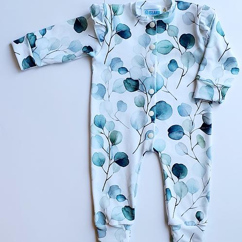 Eucalyptus Baby Sleepsuit, Baby Grow