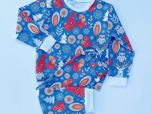 Scandi Woodland Animal Pyjamas
