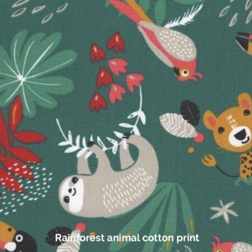Rainforest animals - Jersey