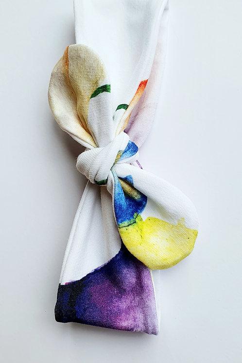 Watercolour Flowers Headbands