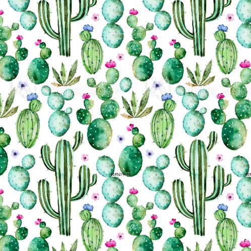 Cactus Print - Jersey