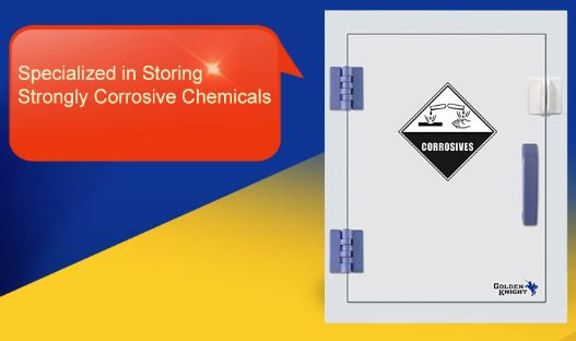 Corrosive Safety Cabinet PP,  Tabletop 4 Gallons/15L