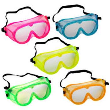 Pri School Fluorescent Safety Goggles, Set of 5
