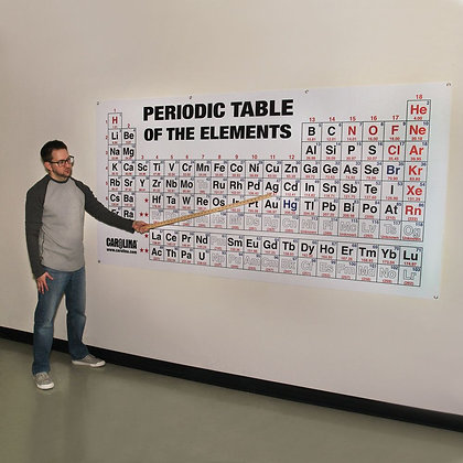 """Giant Periodic Table of the Elements Chart, 96 × 48"""""""