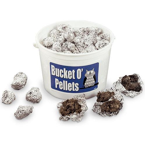 Bucket O' Owl Pellets - 100 Large Pellets