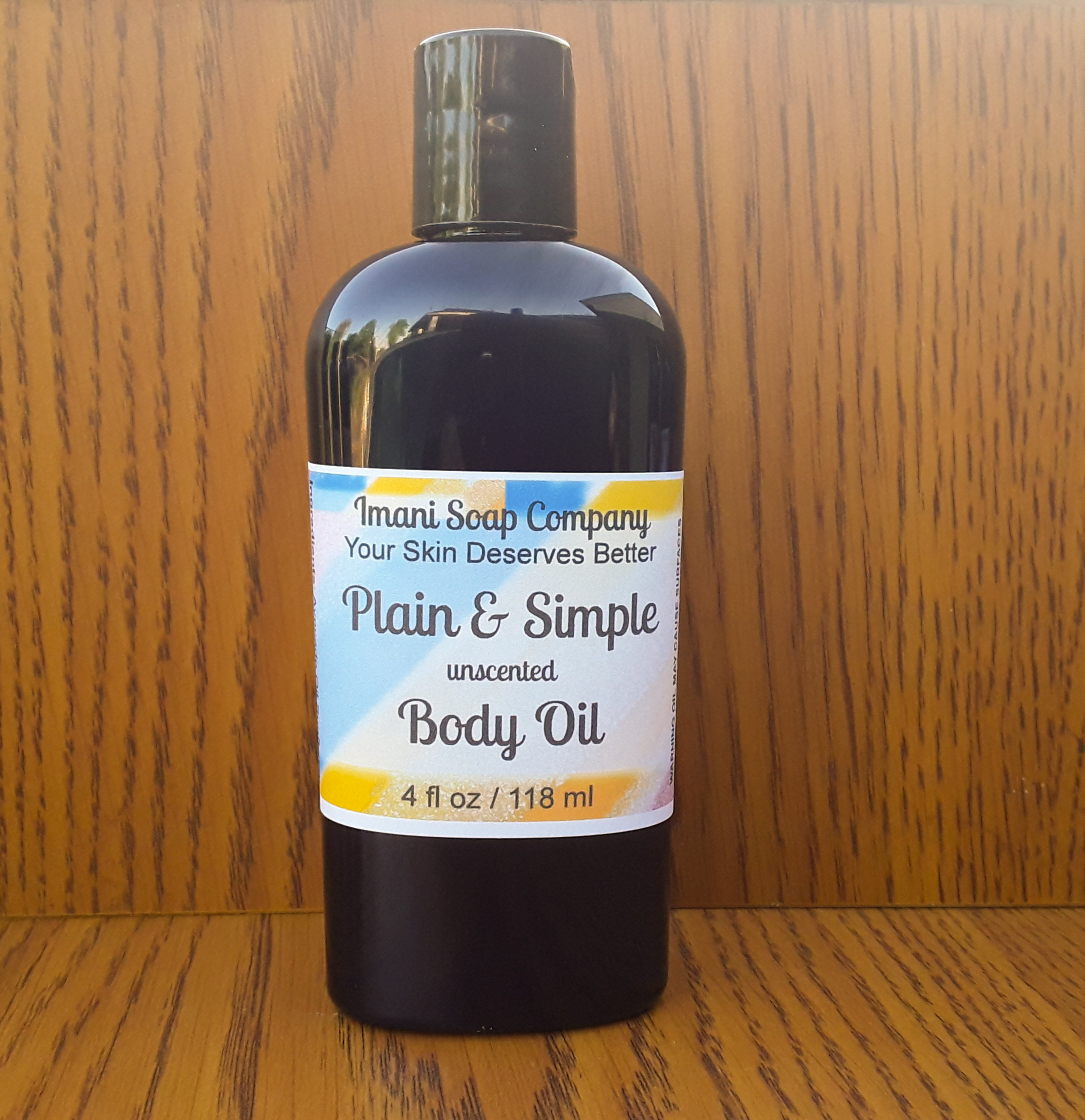 Plain and Simple Body Oil